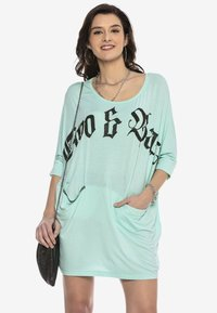 Cipo & Baxx - Jersey dress - mint - 6