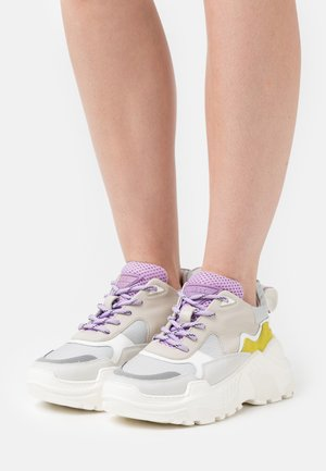SPRINT BLOCK - Sneakers - mix grey