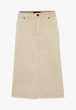 PEYTON  - A-line skirt - sandshell