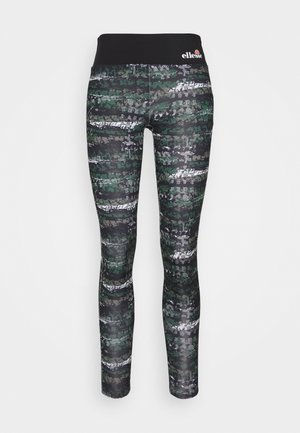 JYN - Tights - black/green
