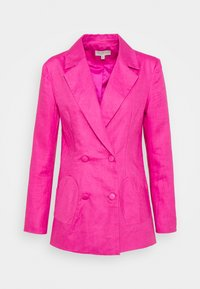 Never Fully Dressed - LINEN HEART POCKET - Blazer - pink - 4