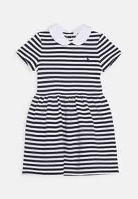 Polo Ralph Lauren - STRIPE DRESS - Denní šaty - navy/white - 0