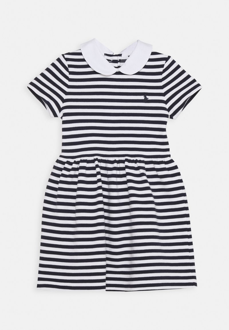 Polo Ralph Lauren - STRIPE DRESS - Denní šaty - navy/white