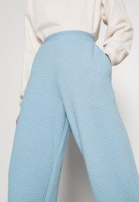 Monki - Trousers - blue light - 3