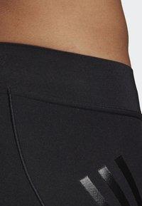 adidas Performance - ALPHASKIN TECH SHORT 3-STRIPES TIGHTS - Sports shorts - black - 5