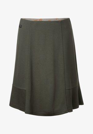 IN UNIFARBE - A-line skirt - grün