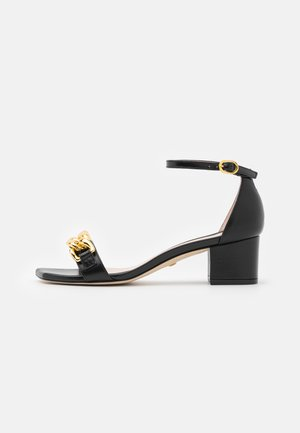 AMELINA BLOCK CHAIN - Sandals - black