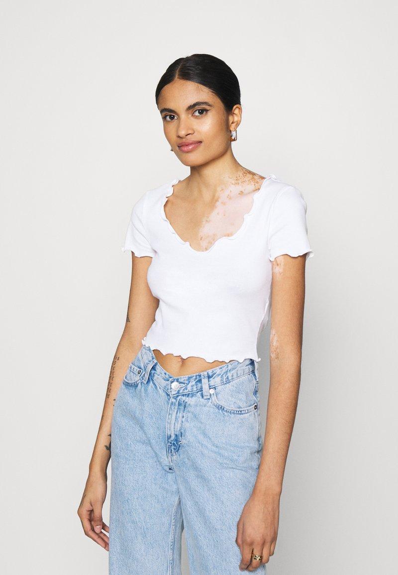 Even&Odd - Basic T-shirt - white