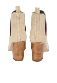 Crickit - STIEFELETTE ANGELINA - High heeled ankle boots - beige - 5