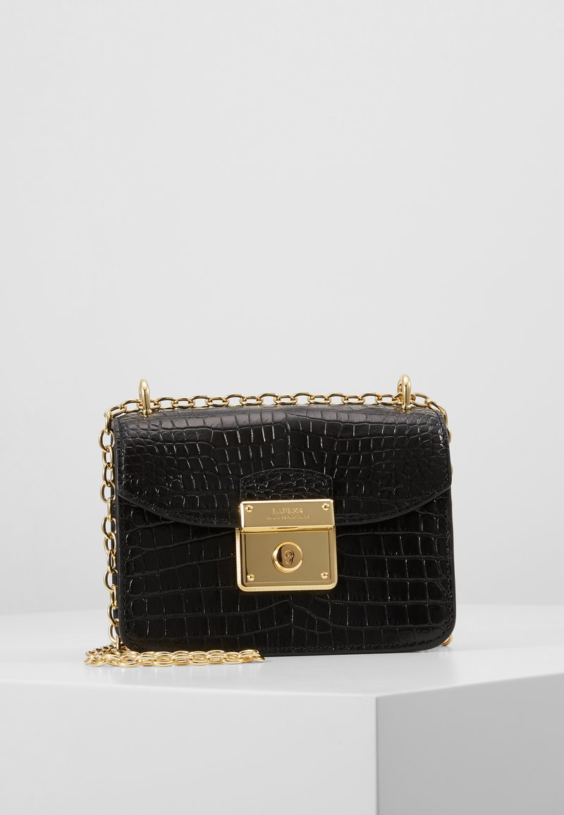 Lauren Ralph Lauren - CROSSBODY MINI - Skulderveske - black