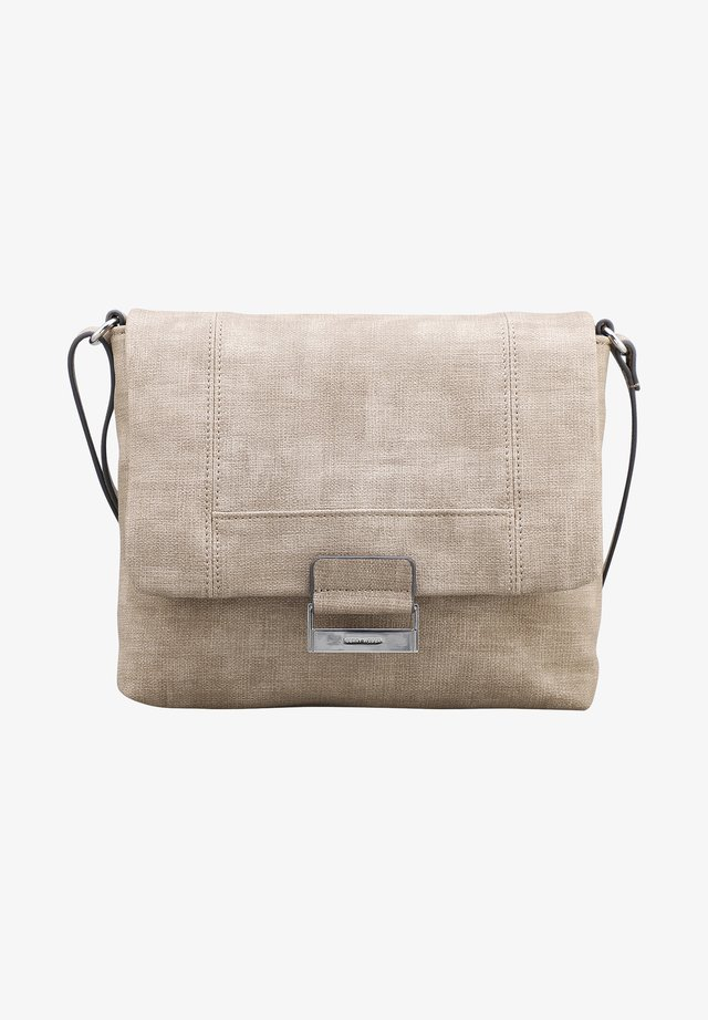 BE DIFFERENT - Across body bag - taupe