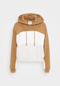 Abercrombie & Fitch - HOODIE - Sweatshirt - tan - 4