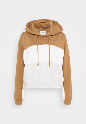 HOODIE - Sweatshirt - tan