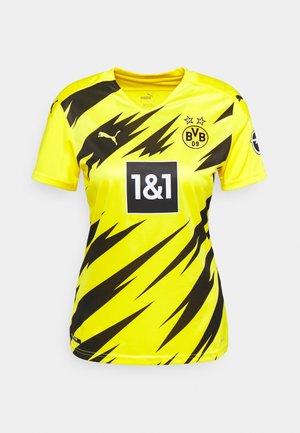 BVB BORUSSIA DORTMUND HOME REPLICA WOMEN - Klubbklær - cyber yellow/black