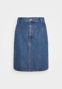 See by Chloé - A-line skirt - deep denim - 4