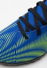 adidas Performance - NEMEZIZ .4 TF UNISEX - Astro turf trainers - royal blue/solar yellow/core black - 5