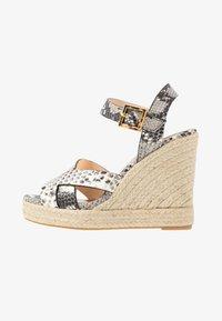 Ted Baker - SELANAE - Højhælede sandaletter / Højhælede sandaler - natural - 1