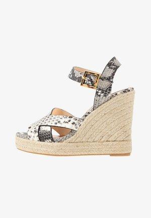 SELANAE - High heeled sandals - natural