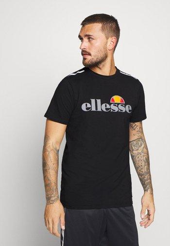 CELLA  - T-shirt imprimé - black