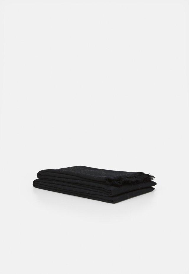 LOGO WRAP - Šátek - black