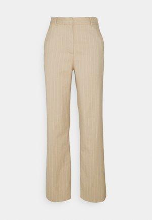 KAFIR PANTS - Trousers - beige