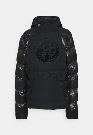 ABREZ SHORT PUFFER JACKET - Winter jacket - jet black