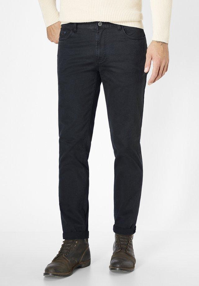 HERREN STRETCH 5-POCKET MILTON - Trousers - black