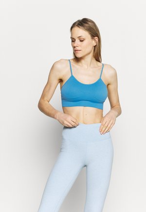 ELIANA - Light support sports bra - blue