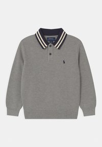 Polo Ralph Lauren - COLL - Strikpullover /Striktrøjer - dark sport heather - 0