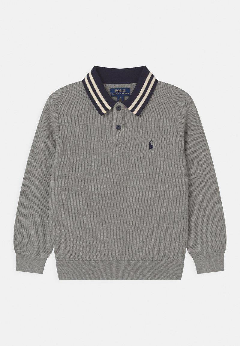 Polo Ralph Lauren - COLL - Strikpullover /Striktrøjer - dark sport heather