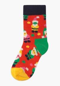 Happy Socks - CHRISTMAS HOLIDAY GIFT 3 PACK UNISEX - Socks - red - 1