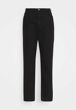 RIOT HIGH WAISTED PLAIN RIDGIDMOM - Jeans a sigaretta - black