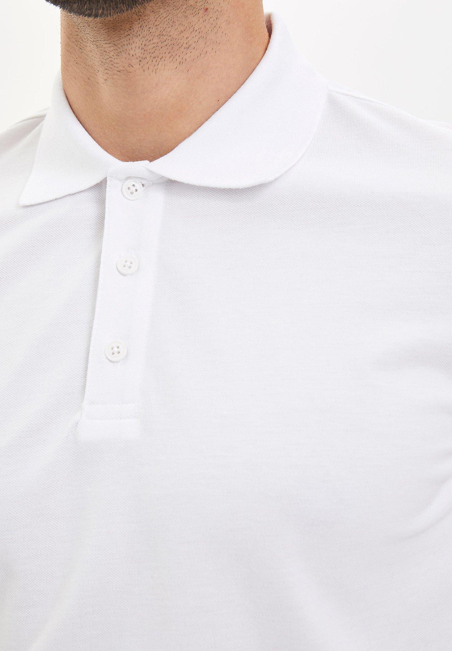 DeFacto Polo shirt - white h67ws