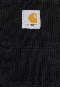 Carhartt WIP - SINGLE KNEE PANT URBANA - Kangashousut - black rinsed - 2