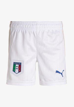 FIGC ITALIA HOME - Sports shorts - white/team power blue