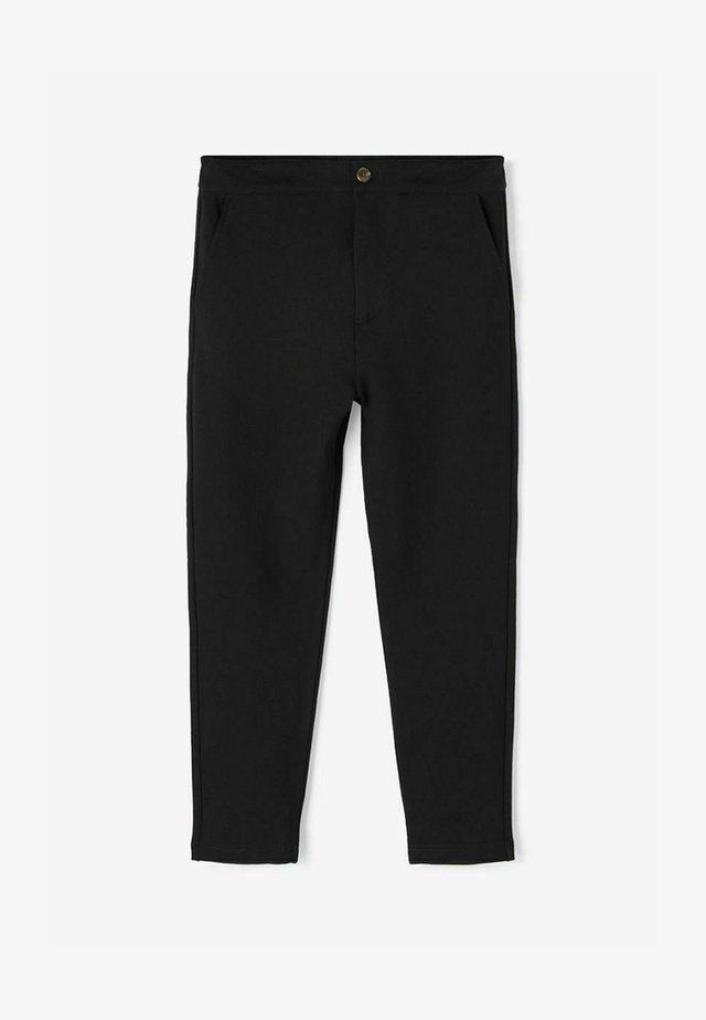 REGULAR FIT - Pantaloni - black