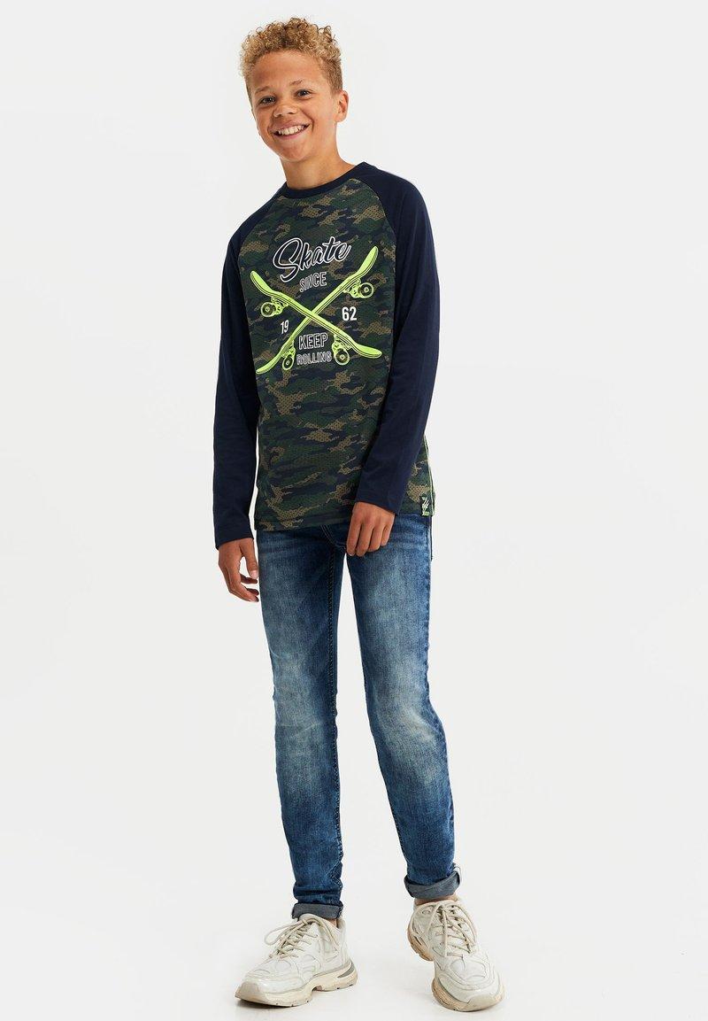 WE Fashion - Long sleeved top - dark green