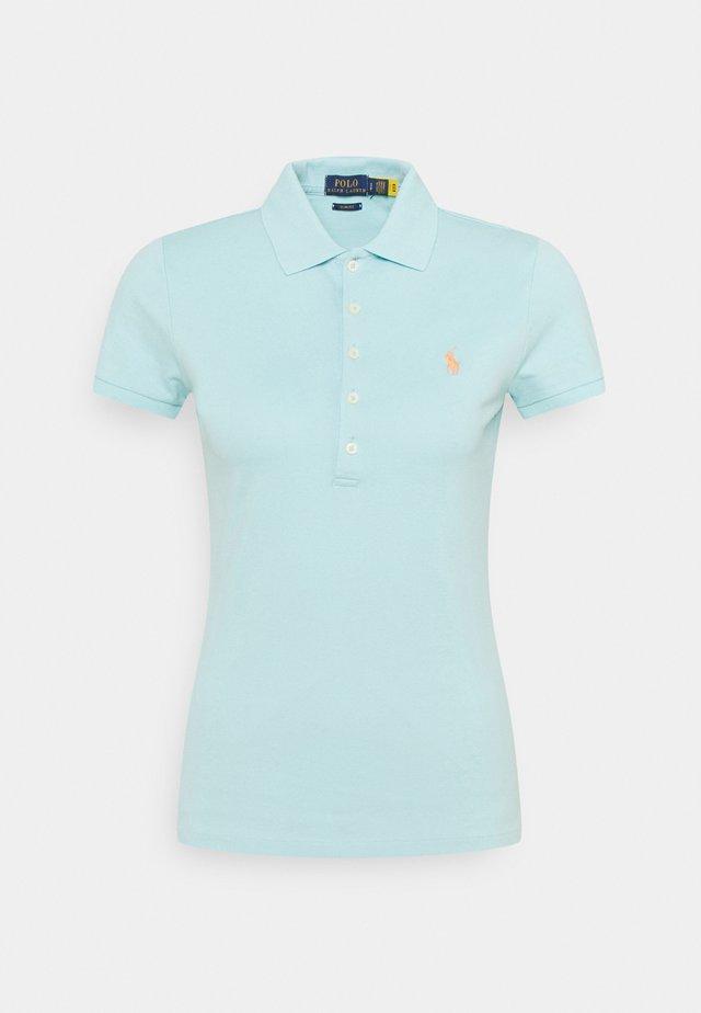 Polo shirt - turquoise cloud