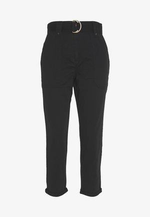 UTILITY TROUSER - Pantalon classique - black