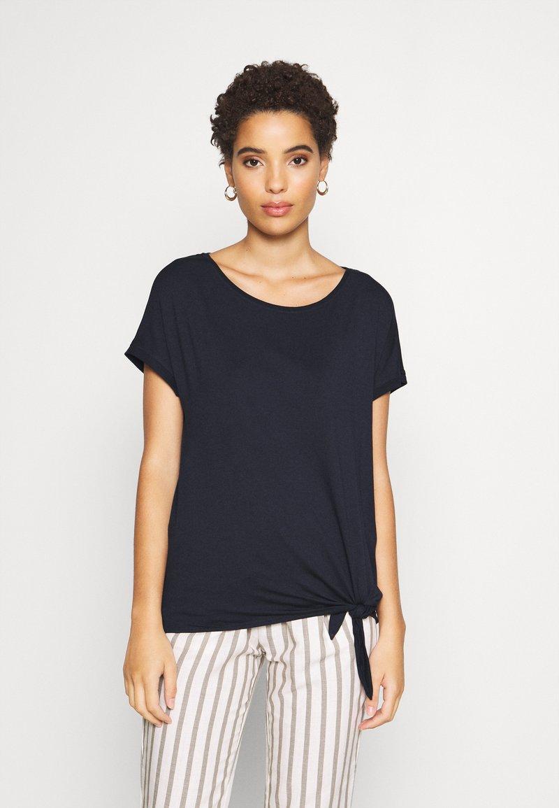 s.Oliver - KURZARM - Basic T-shirt - navy