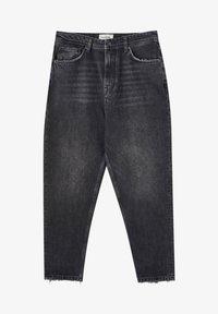 PULL&BEAR - Straight leg -farkut - mottled dark grey - 4