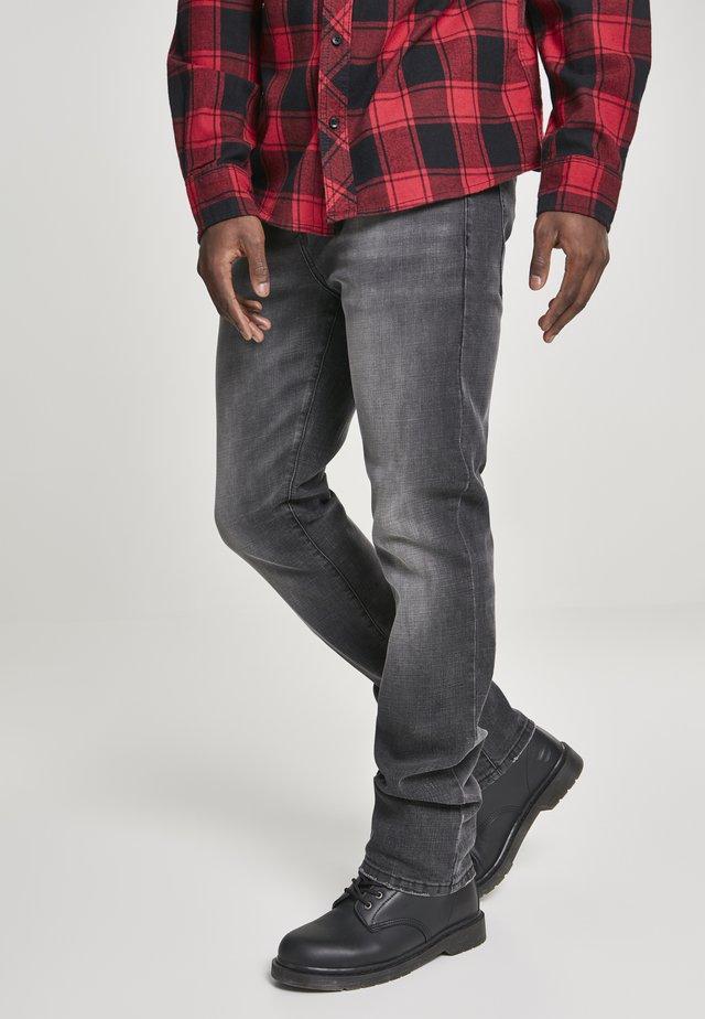 BRANDIT ACCESSOIRES ROVER DENIM JEANS - Jeans a sigaretta - black