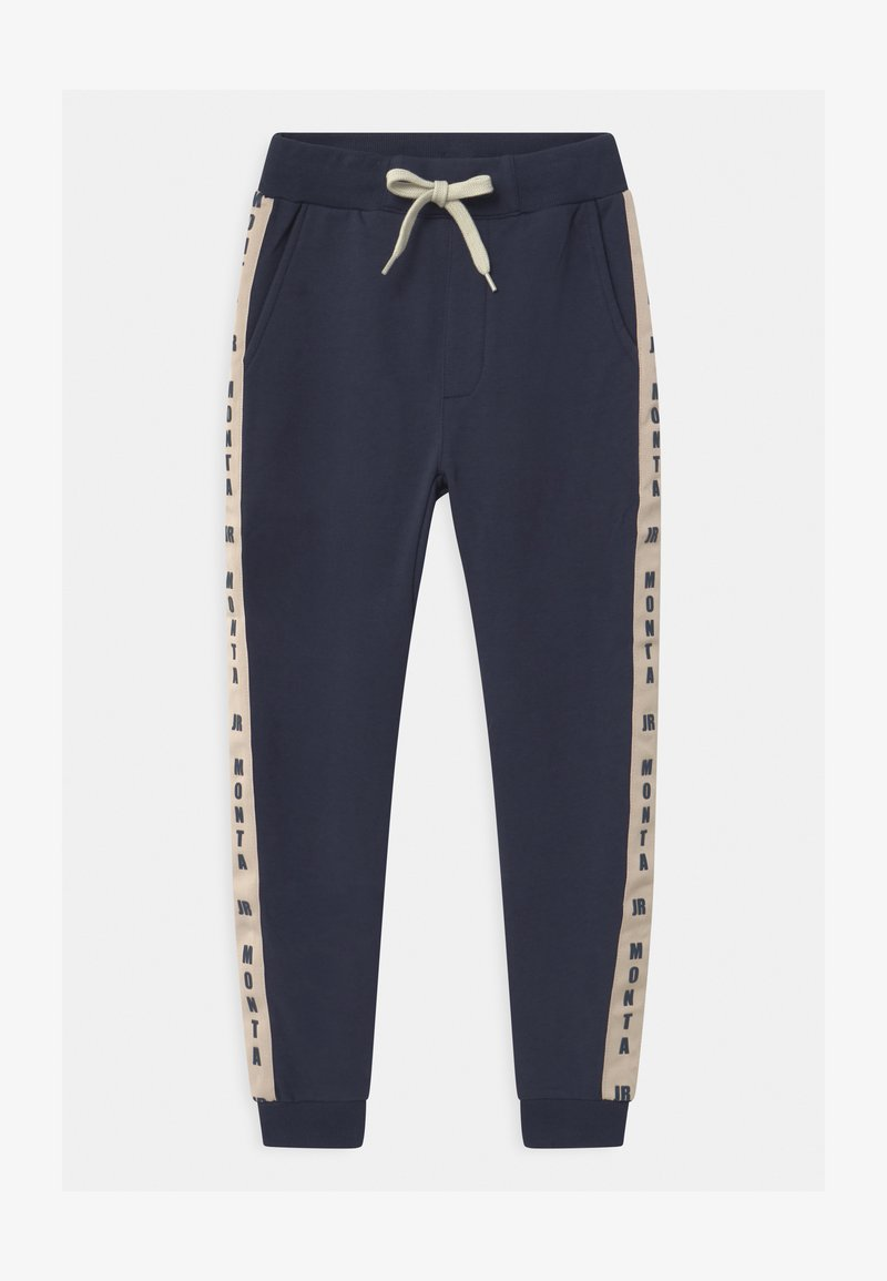 Monta Juniors - PABLO UNISEX - Tracksuit bottoms - black iris
