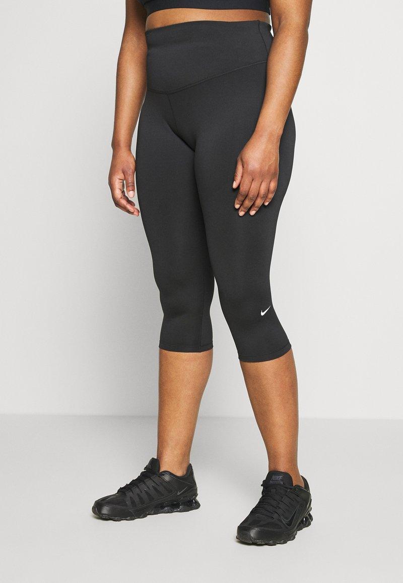 Nike Performance - ONE CROP PLUS - Collant - black