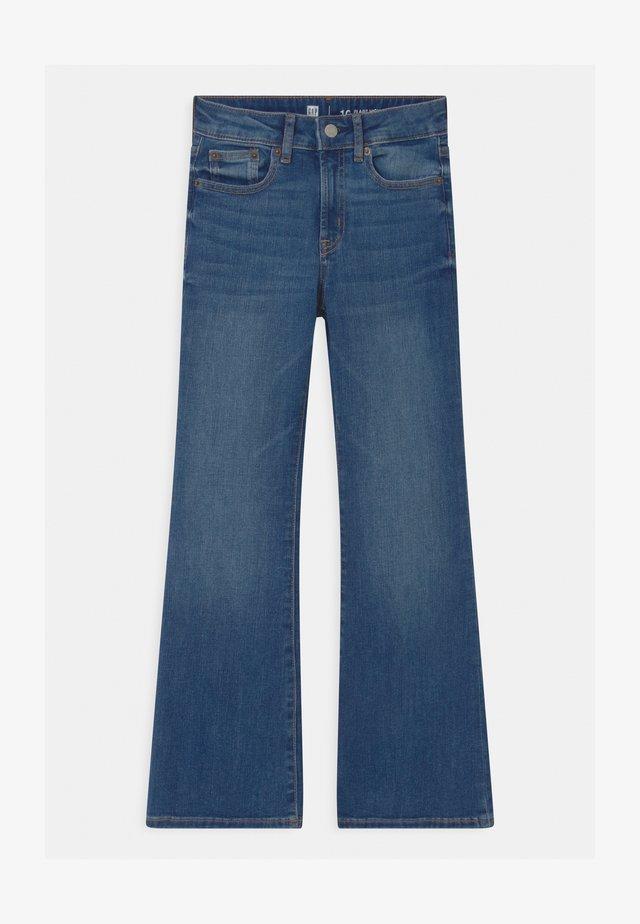 GIRLS  - Jeans bootcut - blue denim