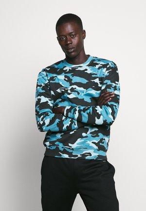 CAMO - Sweatshirt - blue