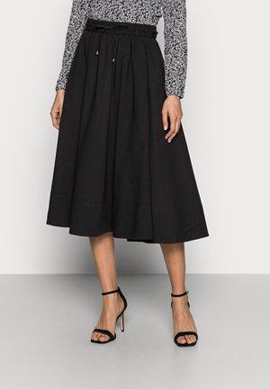 YANCA SKIRT - Áčková sukně - black
