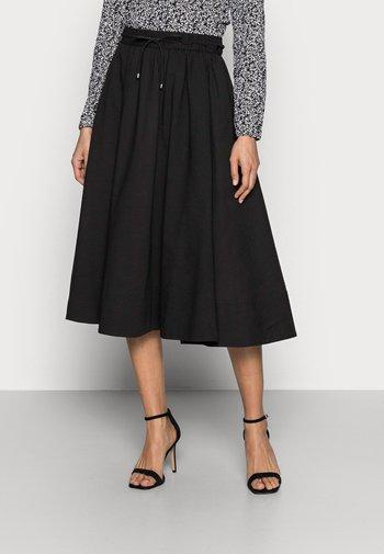 YANCA SKIRT - A-line skirt - black