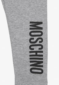 MOSCHINO - Leggings - Trousers - grey melange