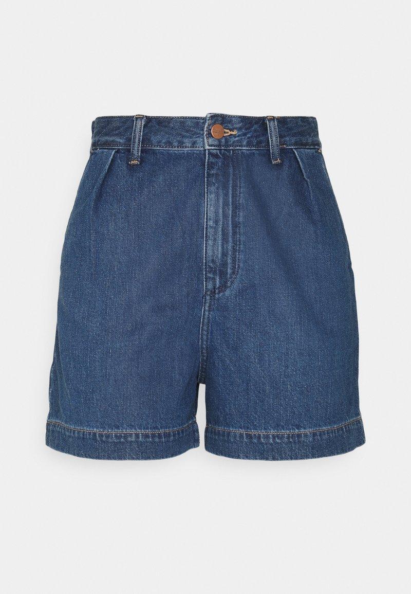 Wrangler - MOM - Shorts di jeans - lake side